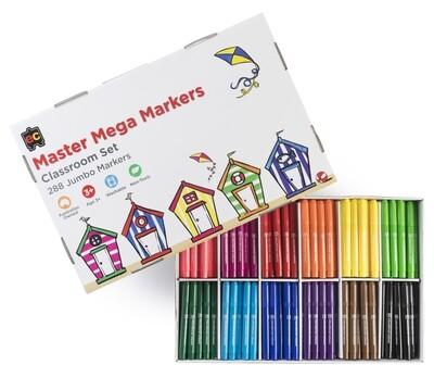 Master Mega Markers Box of 288