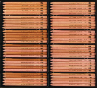 Jumbo Triangular HB Pencils 12opc