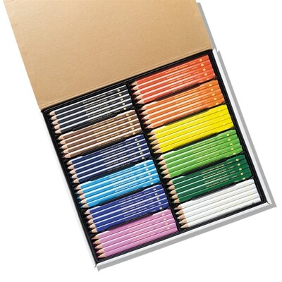 Jumbo Triangular Washable Colour Pencil 120pc