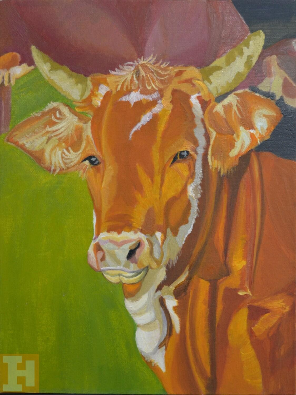 Matilda:- Oil on Canvas 30.5cmx40.6cm