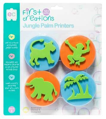 Palm Printers Set of 4