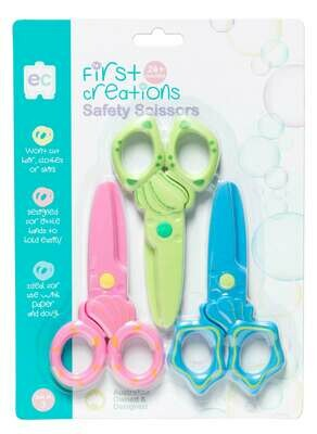 Safety Scissors Set of 3