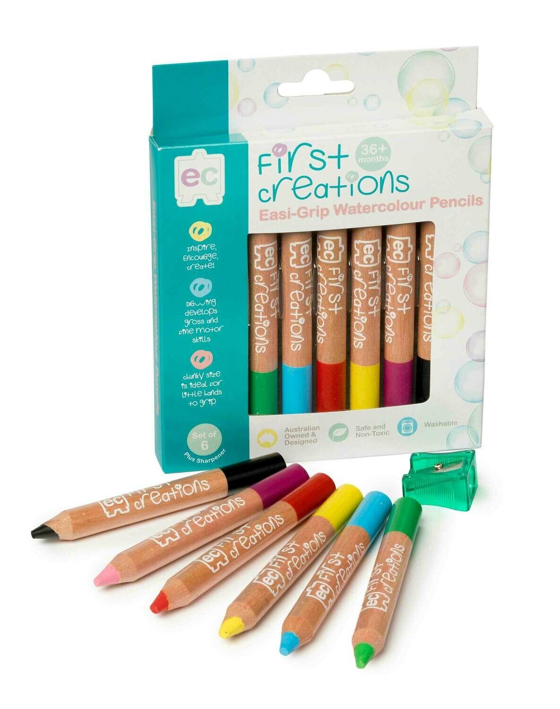 Easi-Grip Watercolour Pencils