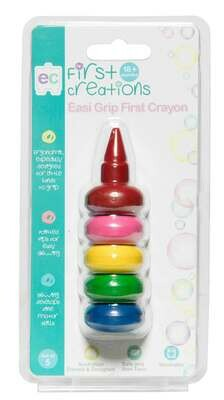 Easi-Grip First Crayon Set of 5