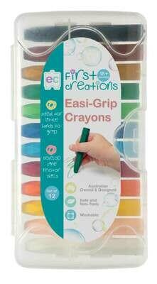 Easi-Grip Crayons