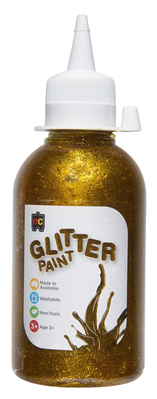 Glitter Paint 250ml Pet bottles
