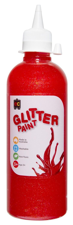 Glitter Paint 500ml Pet bottles