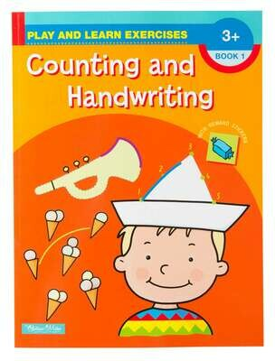 Play and Learn Counting and Handwriting Book