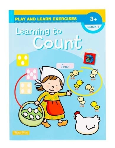 Play and Learn Exercises Learning to Count Book