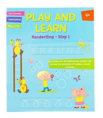 Play and Learn Activity- Handwriting Step