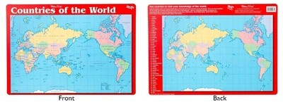 Countries of the World Placemat