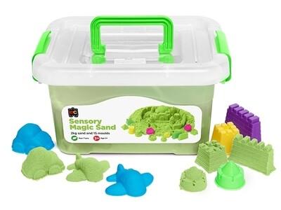 Sensory Magic Sand with Moulds 2kg Tub