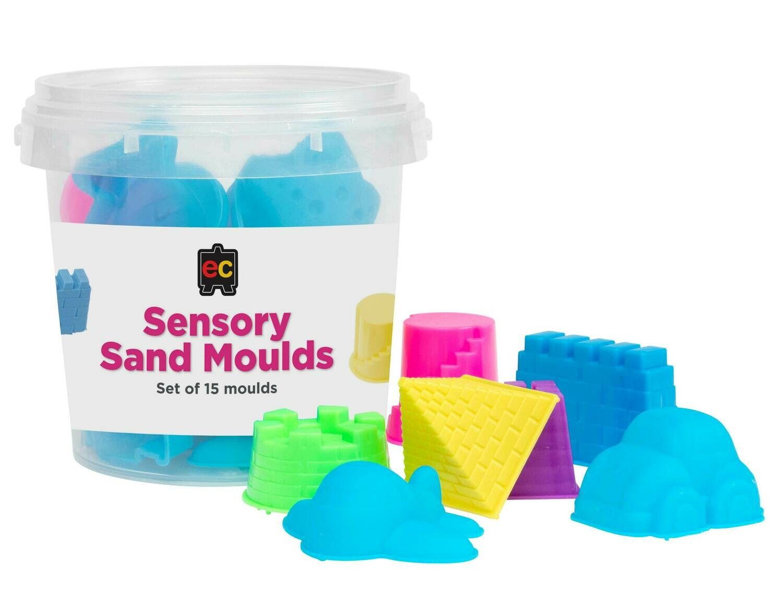 Sensory Sand Moulds Set of 15