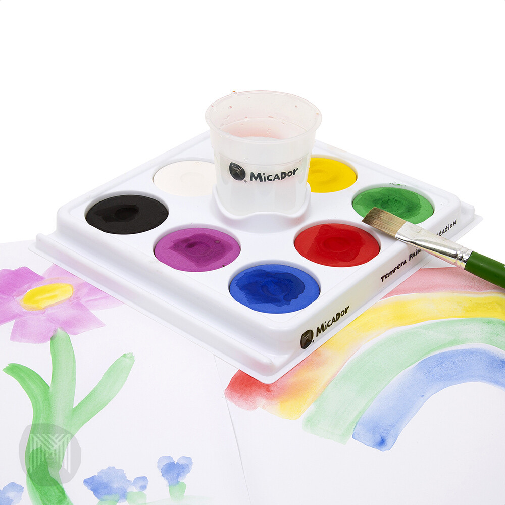 Micador Tempera Painting Station Disc 8