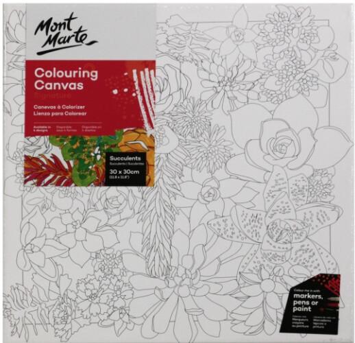 Signature Colouring Canvas 30 x 30 cm (12 x 12 in)
