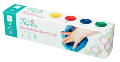 Easi-Soft Rainbow Dough Set of 4