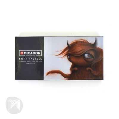 Soft Pastels- Sepia, Pack 12
