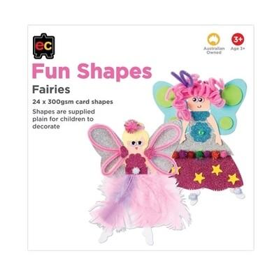 Fun Shapes Fairies 24pc