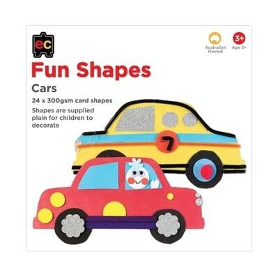 Fun Shapes Cars 24pc