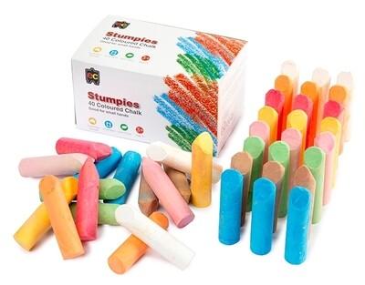 EC Stumpies Chalk 40pcs