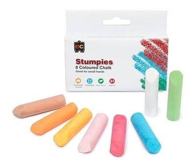EC Stumpies Chalk Pkt 8