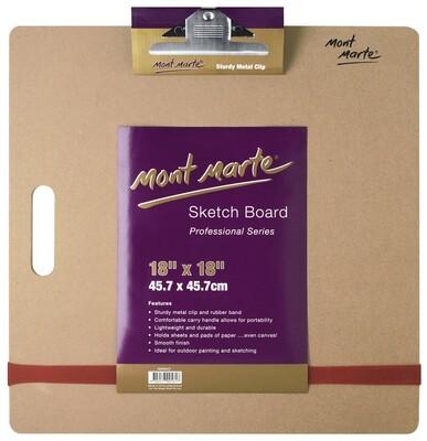 MM Sketch Board W/Clips Med