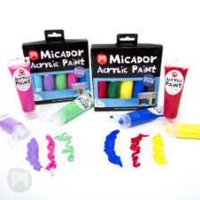 Micador Acrylic Paint Packs
