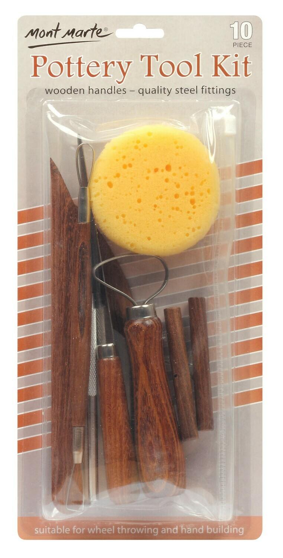 Pottery Tool Kit 10pce