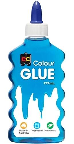 Coloured Glue 177ml-Blue