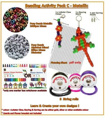 Christmas Beads Activity Pack