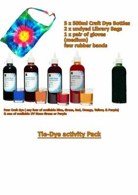 Tie-Dye Activity Pack (PDF Instruction)