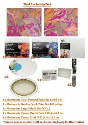 Fluid Art Activity Pack