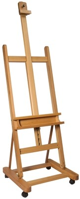 Large Studio Easel with castors