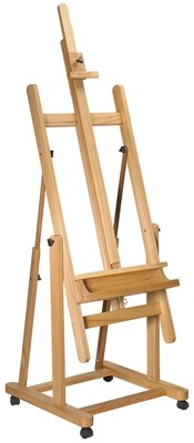 MM Tilting Studio Easel Beech Wood