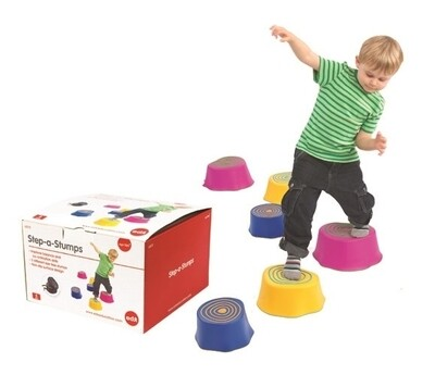 Step-A-Stumps Set of 6