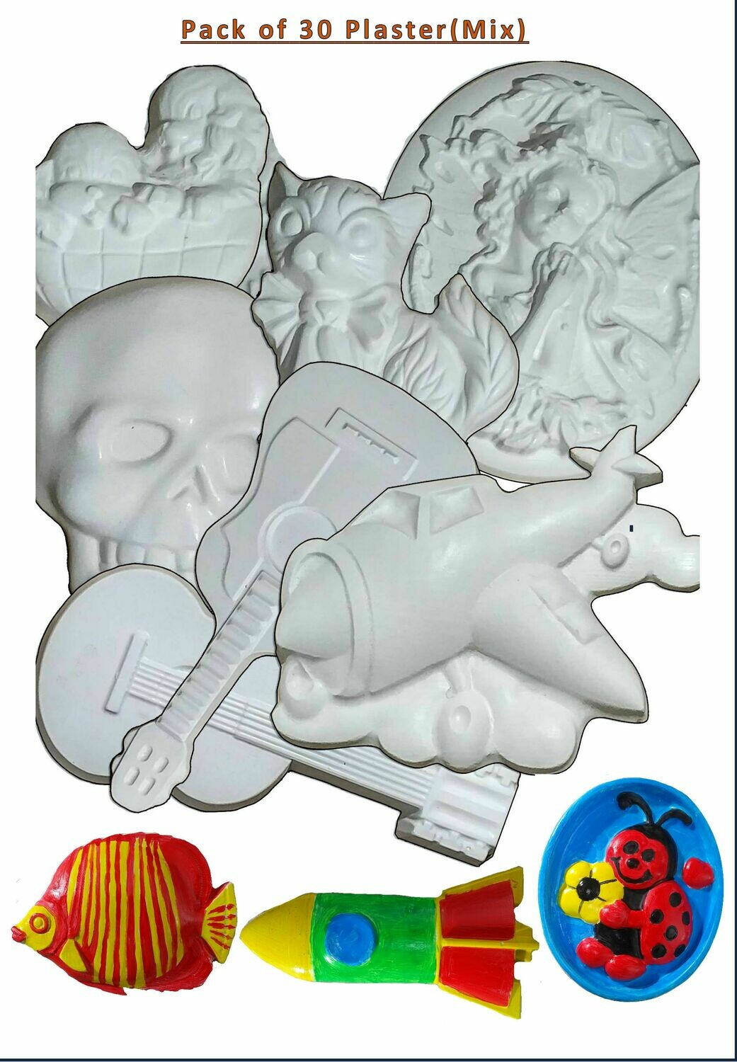 Pack of 30 Plaster (Mix)