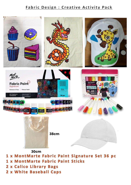 Fabric Design (Craft) Creative Kids Art Pack