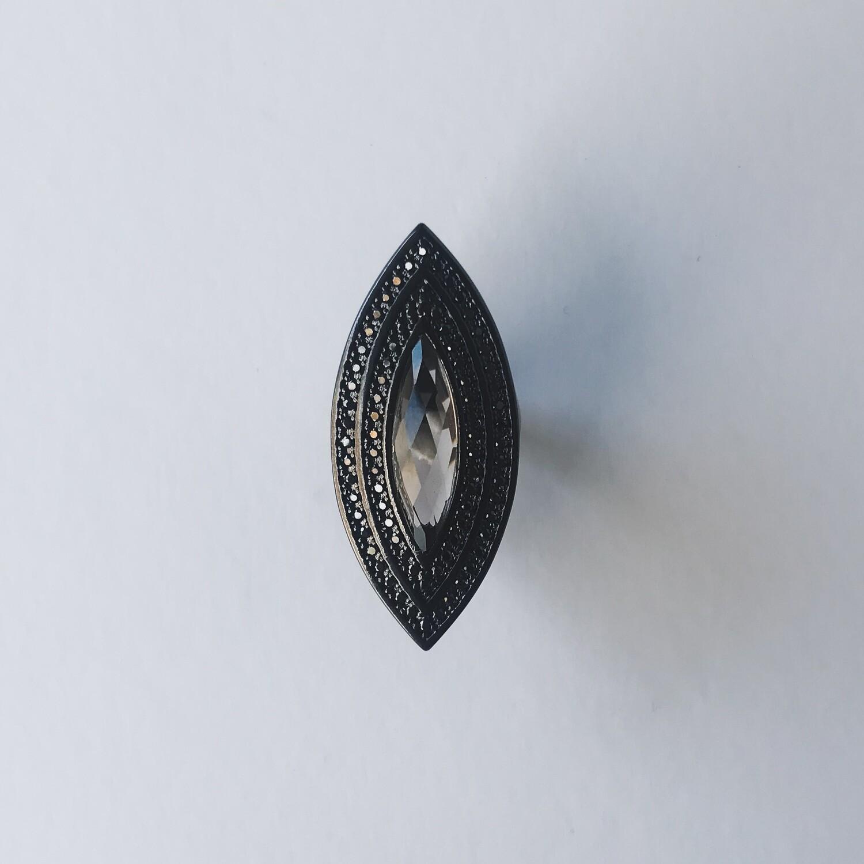 Samarai Crystal Ring