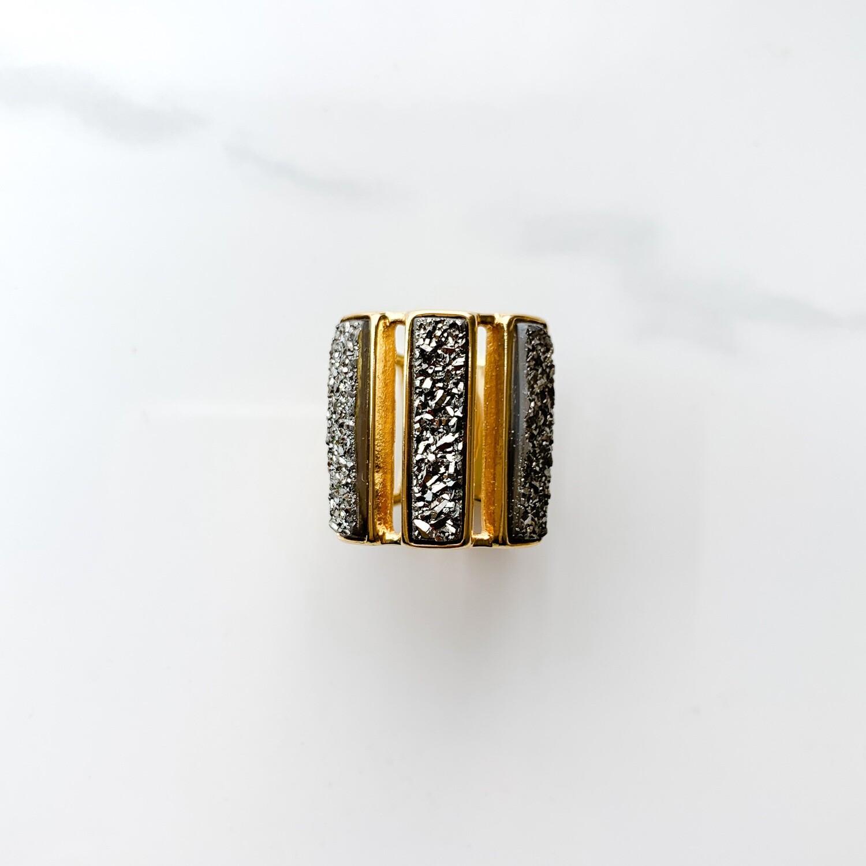 Platinum Bar Ring