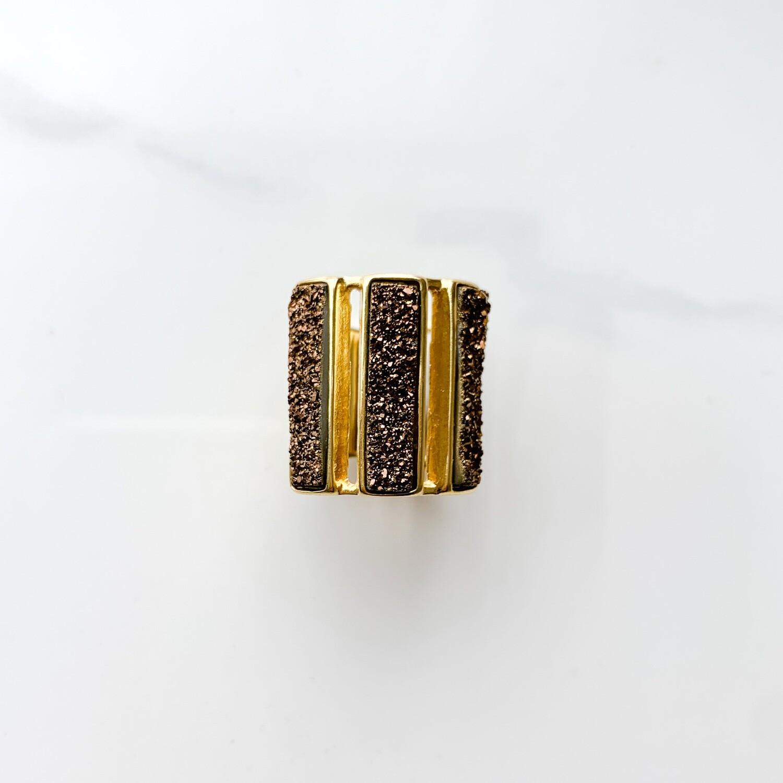 Bronze Bar Ring