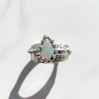 Sugarloaf Rock Opal Ring