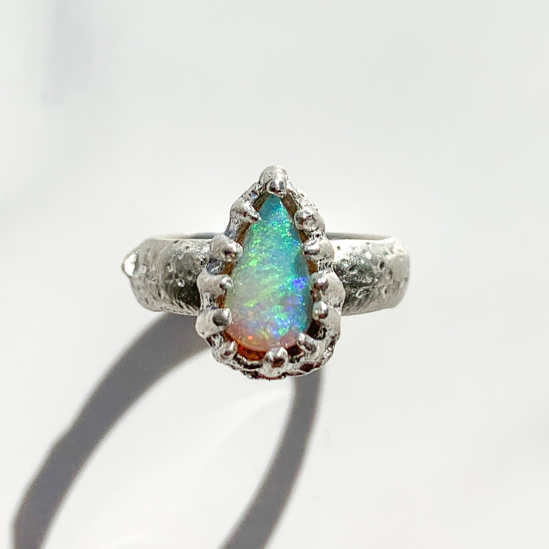 Rabaul Opal Ring