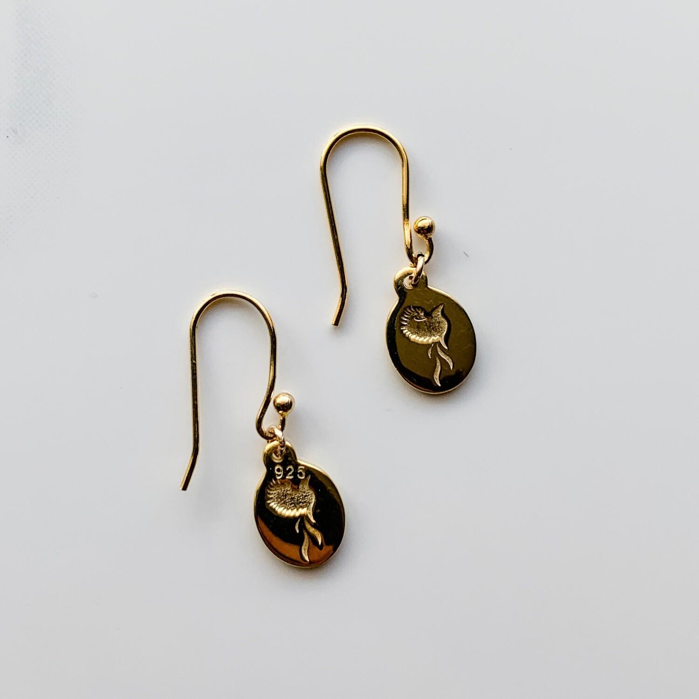 Bird of Paradise Earrings