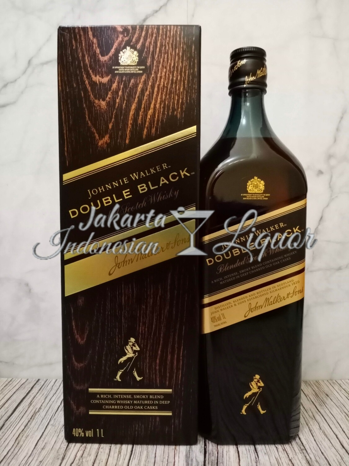 JW Double Black Label 1L