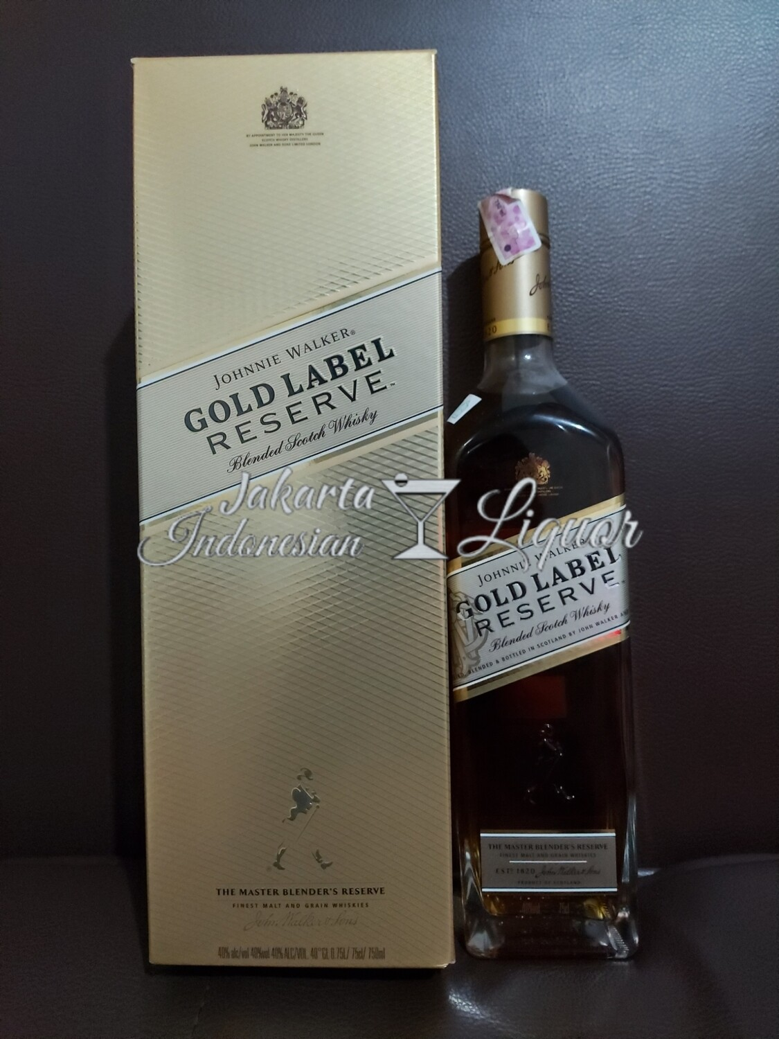 JW Gold Label Reserved 750ML