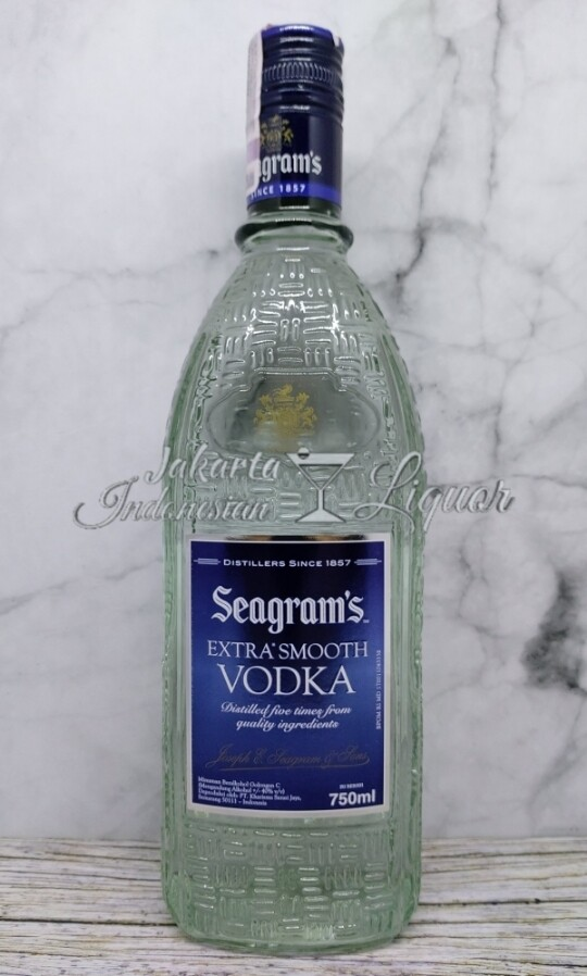Seagram Vodka 750ML