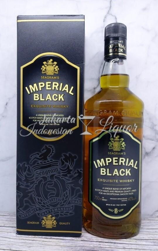 Imperial Black whisky 750ML