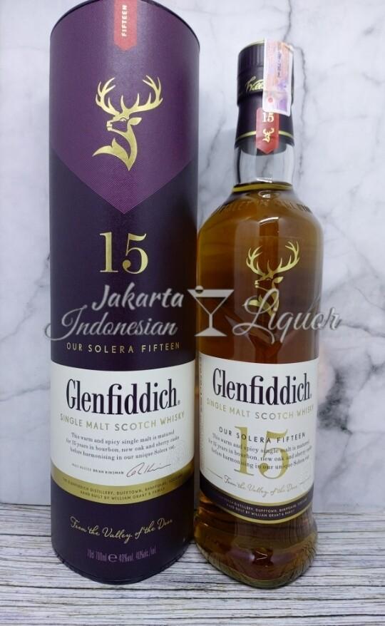 Glenfiddich 15YO - 750ML