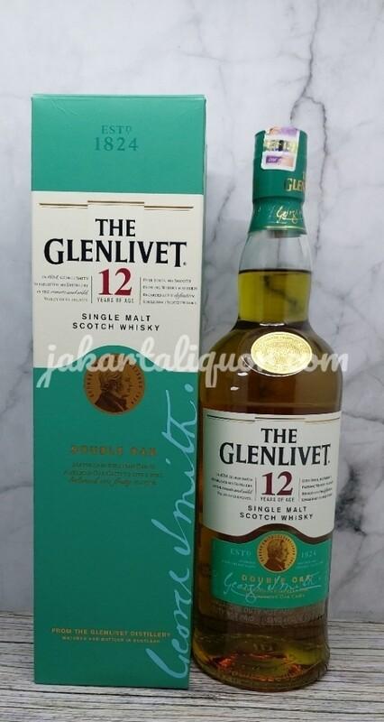 Glenlivet 12YO Double Oak - 700ML