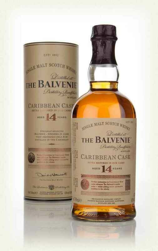 Balvenie 14 Caribbean Cask 700ML